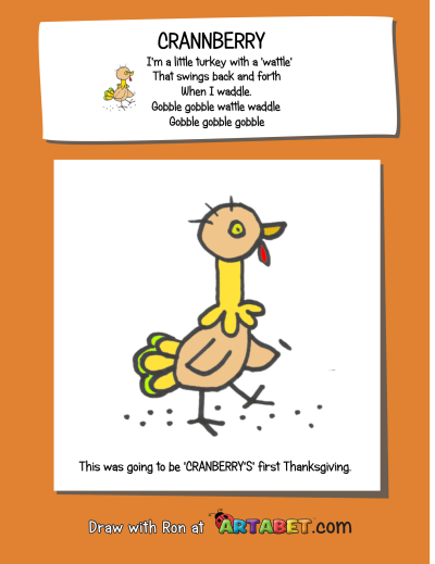 draw thanksgiving picture, easy drawing of turkey