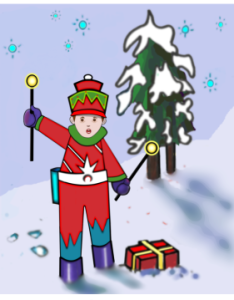 easy and free drawing of christmas holiday art