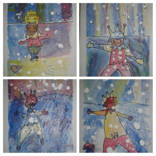 Make winter art