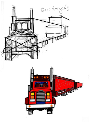 How to teach a 4 to 9 year old to draw trucks