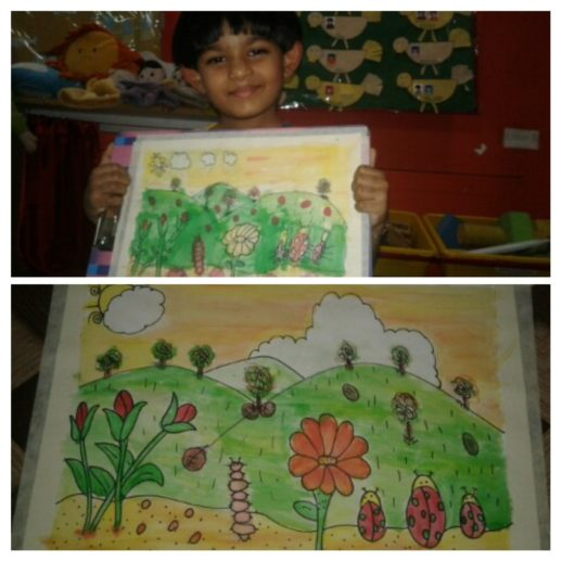 Learn to teach art in India, what to teach your 3 to 7 year old to draw