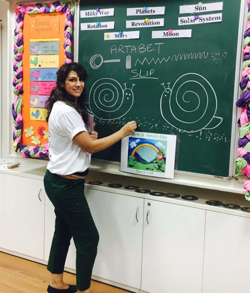 How to teach art in India for ages 3 to 10,